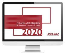 Estudio sobre el alquiler de maquinaria y equipos en España 2020