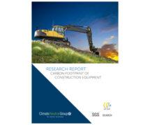 Estudio de la huella de carbono de los equipos de construcción de ERA